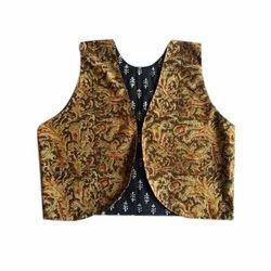 Ladies Sleeveless Jacket, Size: S to XL