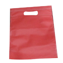 Red D Cut Non Woven Bag