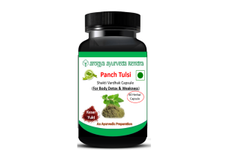 Panch Tulsi Capsule for Body Detox & Weakness