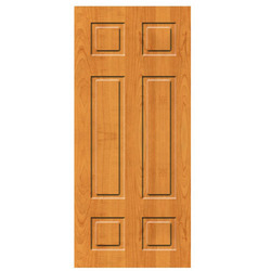 Almond & Marine Wood Commercial Flush Door