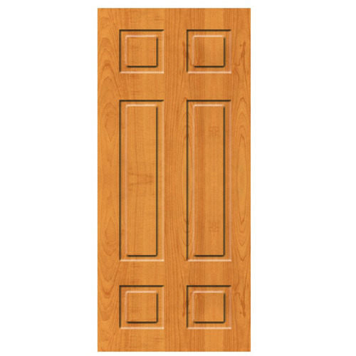Wood Brown Commercial Flush Door