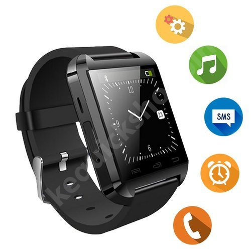 658d6fb00dde Black Touch Screen U8 Bluetooth Smartwatch For IPhone & Android, Rs ...