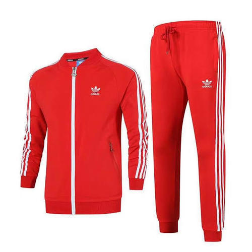 best prices reliable quality online store Men Polyester Red Tracksuit, Rs 450 /piece, Nandan Enterprises ...