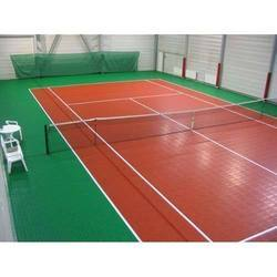 Indoor Tennis Court Flooring Service