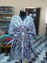 Cotton Mandala Women Kaftan Dress