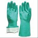 Flocklined Nitrile Gloves