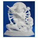 Dugra Maa Marble Statue
