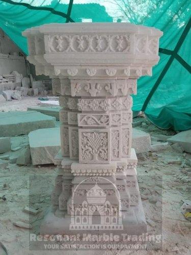 Marble/Stone Tulsi Stand