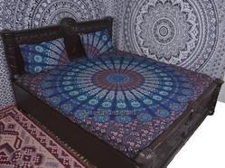 Blue Badmeri Duvet Cover