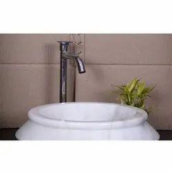 Earthstona Stone White Designer Wash Basin, For Home