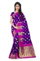 Banarasi Silk Saree with Cotton Blouse