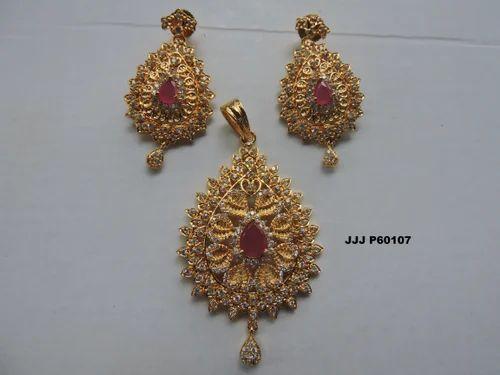 Traditional Pendant Earring Set at Rs 400  set  6fb56e6e2cf7
