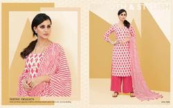 Shree AVC Plazo Beauty Series 1001-1008 Stylish Party Wear Cotton Suit