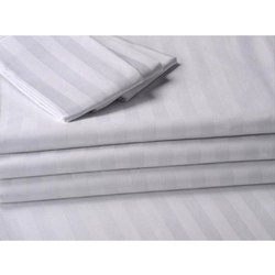 white satin stripe fabric, GSM: 100-150 GSM