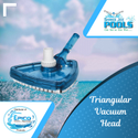 Triangular Vacuum Head