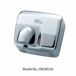 Orchids SS Hand Dryer with Nozzle