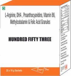 L Arginine , Methylcobalamin And Folic Acid Granules