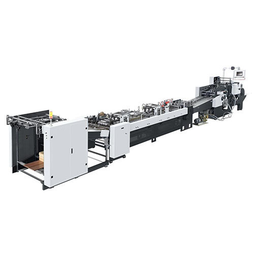 Automatic Paper Carry Bag Making Machine, 20-40 And 40-60
