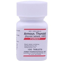 38mcg+9mcg Thyroid Levothyroxine & Liothyronine tablets, Prescription, Forest