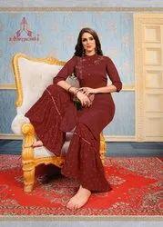 Ladies Sarara & Skirt, Size: M L XL XXL