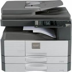 Black & White Sharp AR 6020 D Multifunction Printer, 20 Ppm