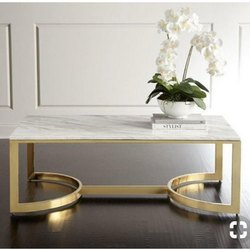 Designer Handicrafts Iron Modern Metal Table, for Restaurant