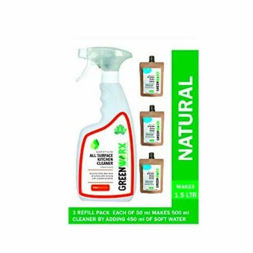 All Purpose Kitchen Cleaner Liquid Rs 149 Kit Aditya Renew Tech Id 22361315933