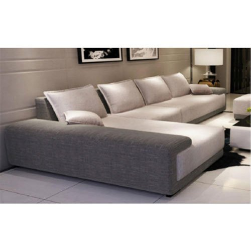 6 Seater Foam L Shape Designer Sofa
