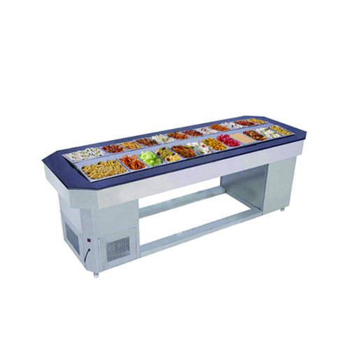 Aditya Stainless Steel Salad Bar