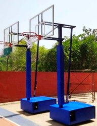 Basketball Pole Movable Height Adjustable  Small Size For Practice And Children''''s