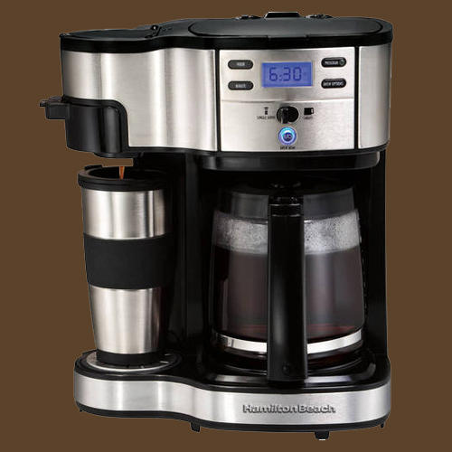 Hamilton Beach 49980a 2 Way Single Serve Brewer Maker Coffee