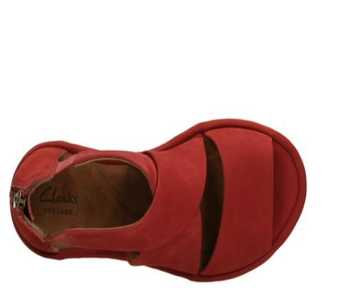 b563f0257453 Clarks Daily Wear And Casual Red Sandal