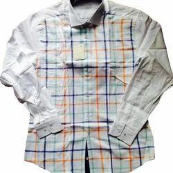 Full Sleeves Casual Men's Shirt, Size: Medium