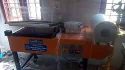 L Sealer with Shrink Wrapping