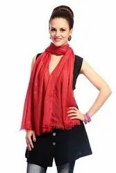 Malmal Cotton Casual Wear Ladies Plain Stoles