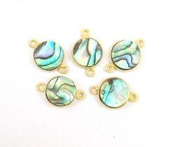 Abalone Bezel Gemstone Jewelry