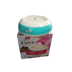 White Plastic Insulated Hot Pot, For Home