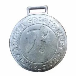 Silver Plated Annual Sport Medal