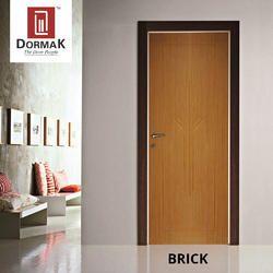 Brick Decorative Wooden Membrane Designer Door