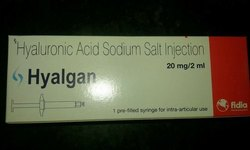Hyaluronic Acid Injection, Grade: Medicine