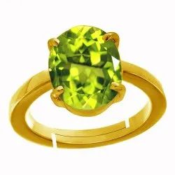 Peridot Stone Ring Women and Men Asthdhatu Gemstone