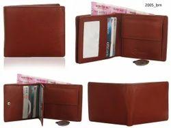 Genuine Leather Credit Card Mens Wallet (2005)