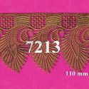 New Style Of Indian Gold Zari Lace From Fashion Plus