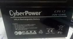 Cyber Power 12v12ah S.m.f. Battery, Model Number/Name: Cps12, Model No: Cps12