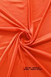 Dyed Modal Satin Fabric
