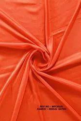 Plain Dyed Modal Satin Fabric, GSM: 80 GSM