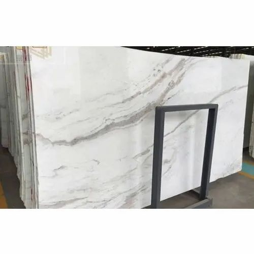White Marble Slab, Thickness: 16 mm
