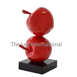 Apple Fruit Sculpture decorative showpiece
