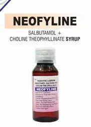 Salbutamol And Choline Theophyllinate Syrup
