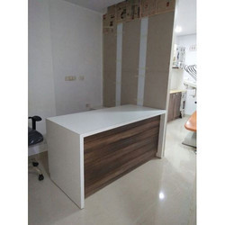 Wooden Reception Counter, Thickness: 5 to 15 mm